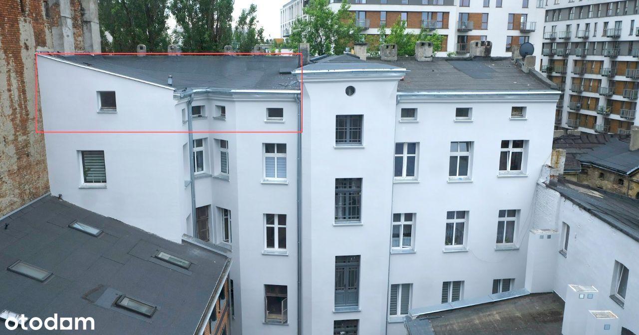 Mieszkanie na poddaszu do remontu + piwnica