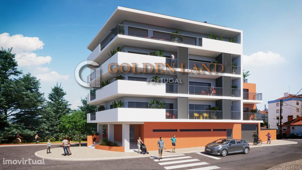 Apartamento T2+1 novo, piso 1Eq, venda, em construção, centro Odivelas