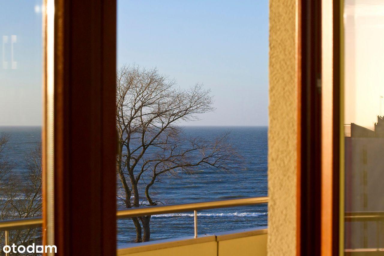 Apartament w Arka Medical Spa z widokiem na morze