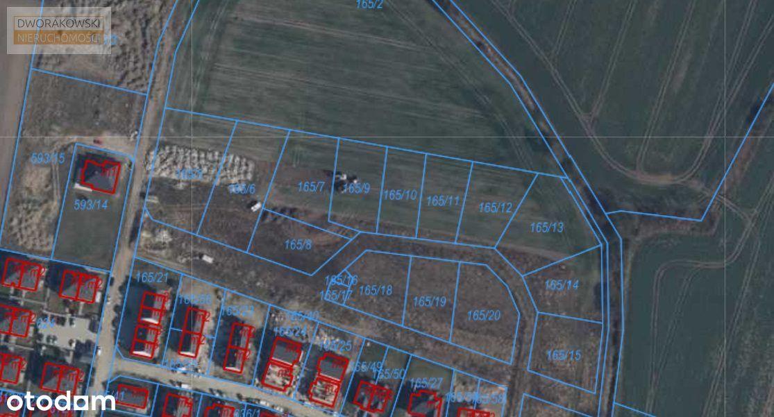 Działka, 1 105 m², Kiełczów