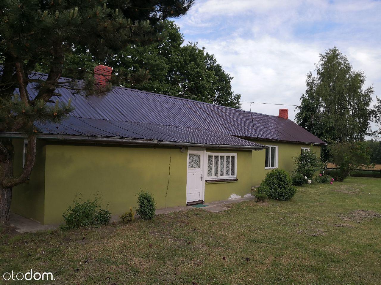 Dom, budynki użytkowe, działka 3900m2, Wola Uhrusk