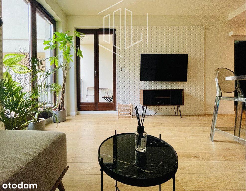 Mieszkanie z balkonem, garderobą i klimatyzacją
