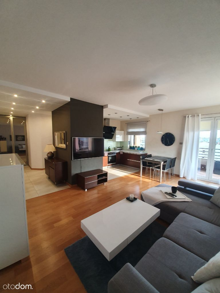 Mieszkanie Apartament 58m2/ Taras 13m2/Klima/ Gara