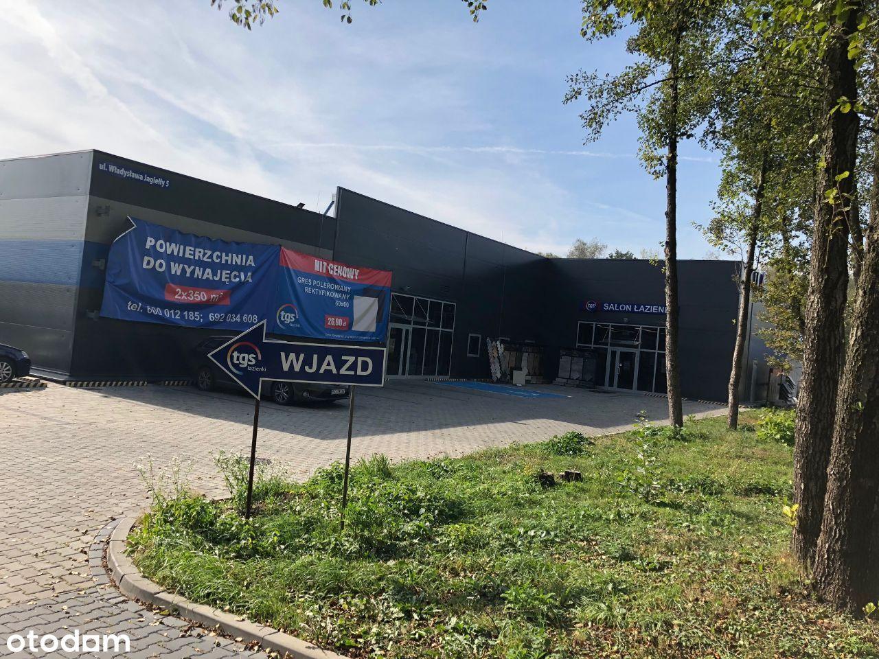 Jastrzębie Jagiełły nowy pawilon 2x300 lub 600