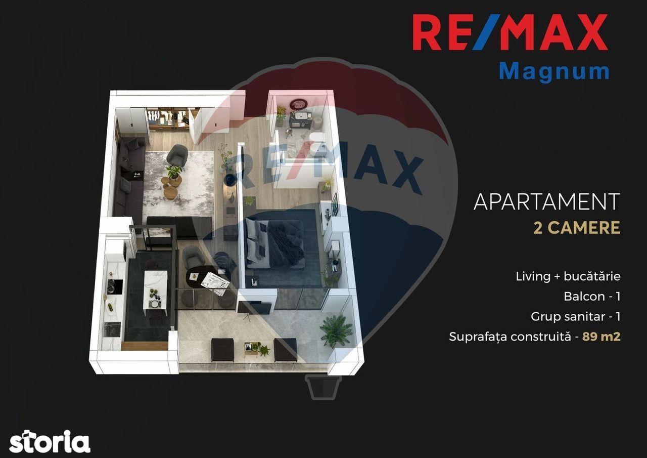 Apartament cu 2 camere de vânzare Parcul Circului