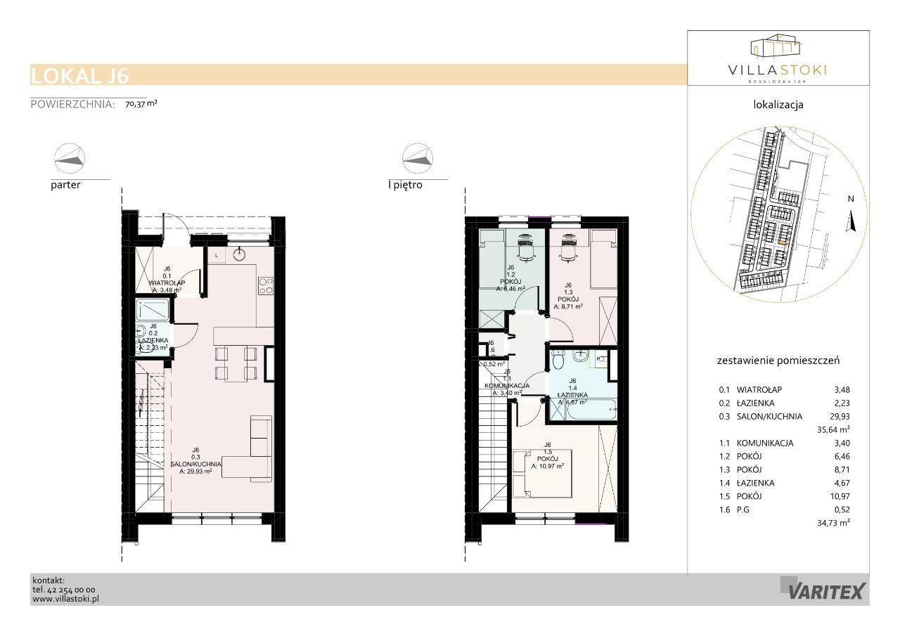 Dom typu 75 - Villa Stoki (dom J.06)