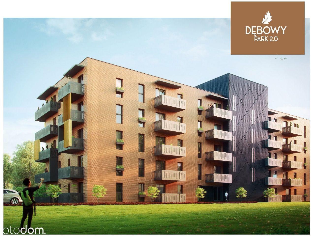 Mieszkanie z ogródkiem 52,80m2
