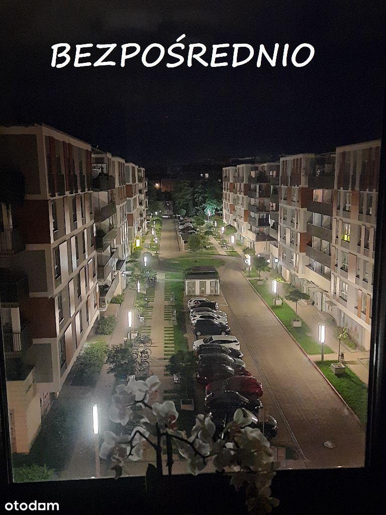 Dwupoziomowy apartament z tarasem – Grzegórzki