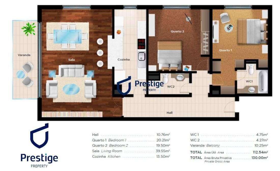 Apartamento para comprar, Sintra (Santa Maria e São Miguel, São Martinho e São Pedro de Penaferrim), Sintra, Lisboa - Foto 14