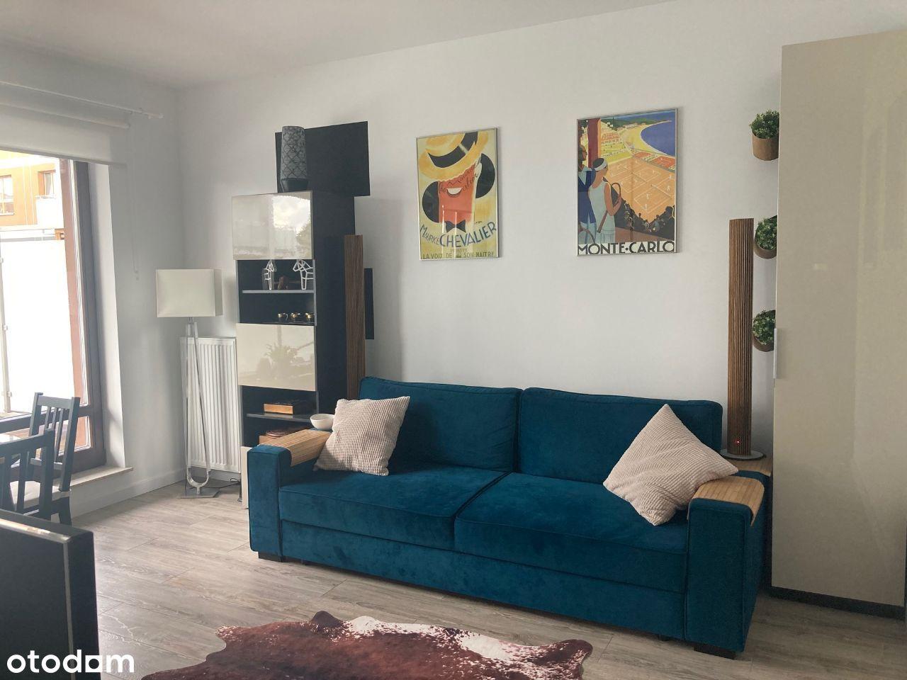 2 pokojowe z drewnianym tarasem 26 m2
