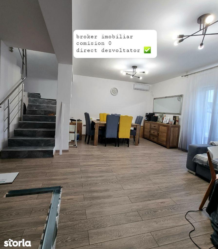 Casa 4 camere, teren liber 200mp