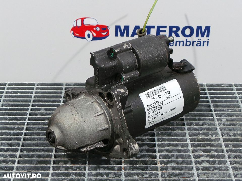 Electromotor, Iveco Daily - 1