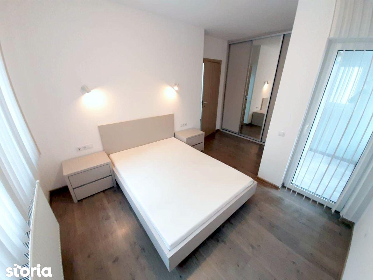 2 dormitoare + mini living open-space, bloc nou, garaj, in Gheorgheni