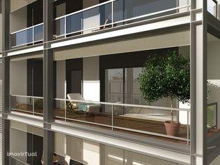 Apartamento T4 + 1 com Varanda, Terraço e Arrecadação