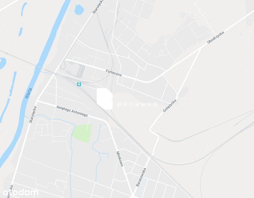 Działka Ag, własna bocznica kolejowa, blisko A2