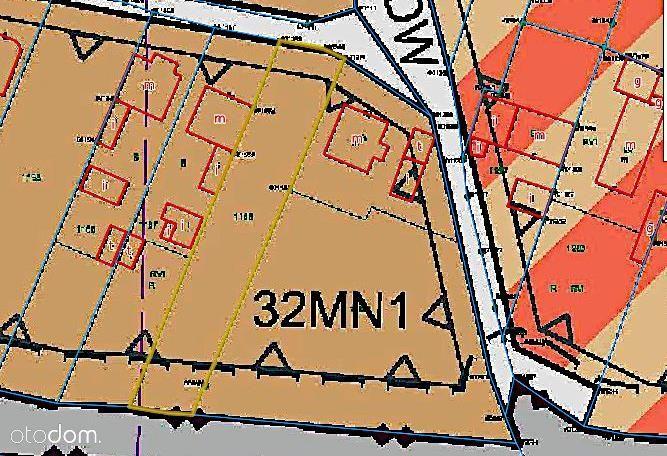 Działka, 978 m², Komprachcice