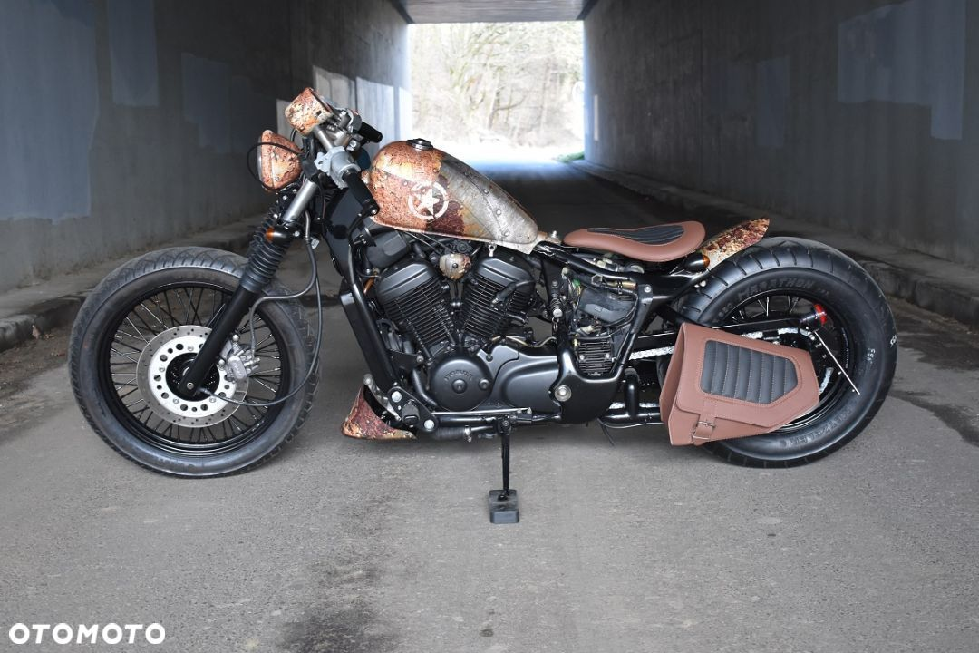 Honda VT Shadow vt 600 Flame Custom Bobber cafe - 18