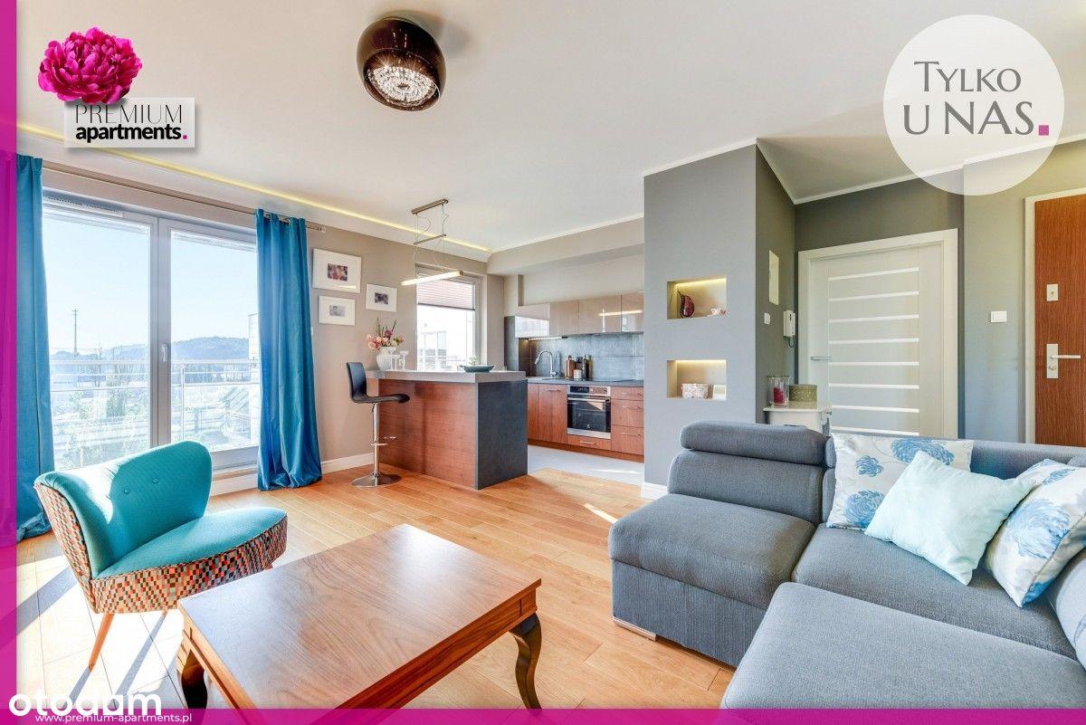 Altus 2-pokojowy słoneczny apartament z balkonem
