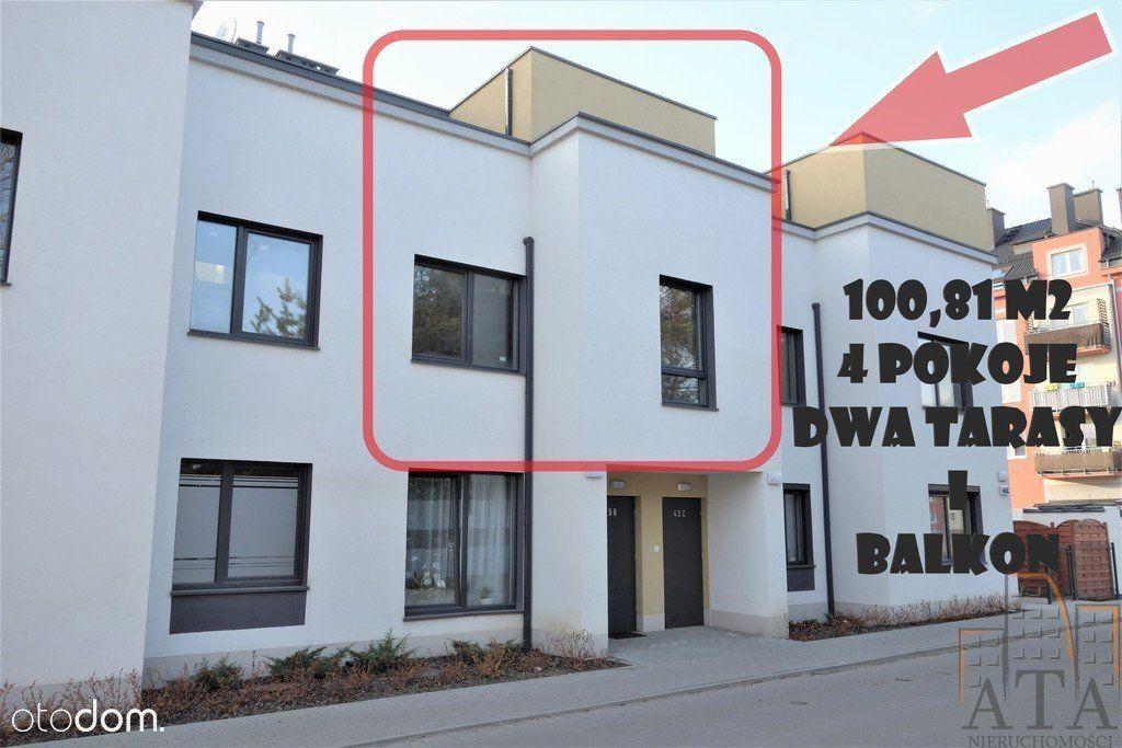 Stabłowice * 4 Pokoje 101 m2 Dwa Tarasy i Balkon