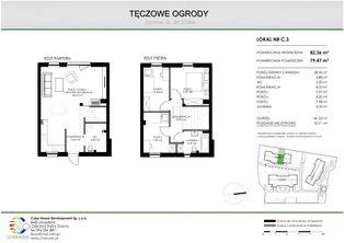 Mieszkanie 4 pokojowe + ogródek + poddasze
