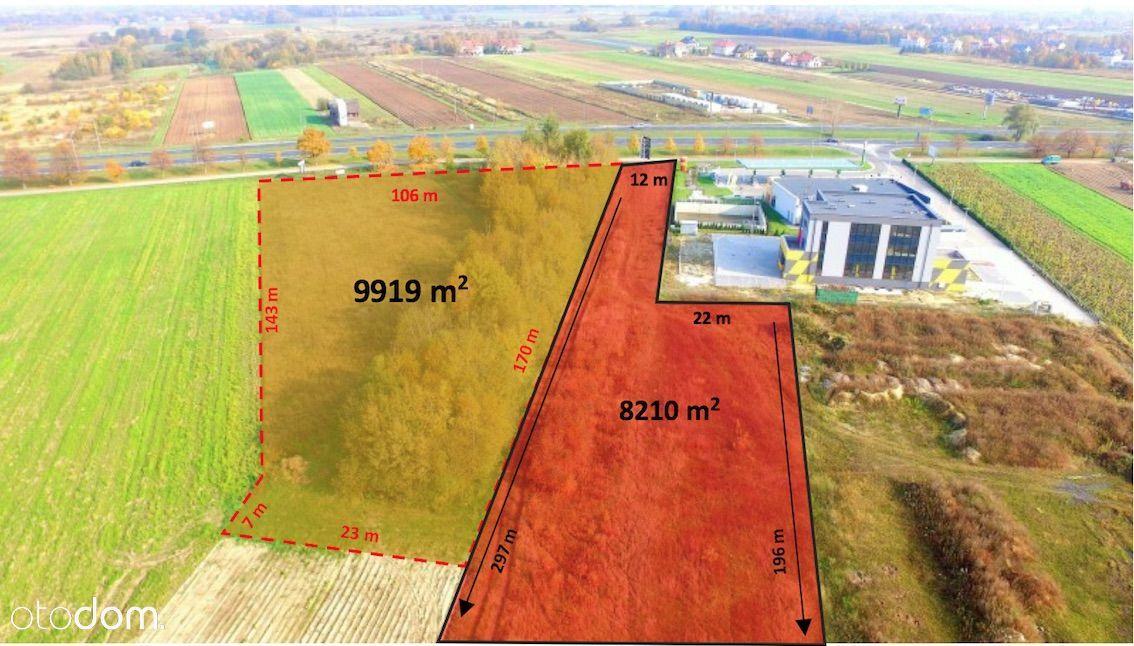 Teren inwestycyjny 8,2 tys m2 ul. Przyczółkowa