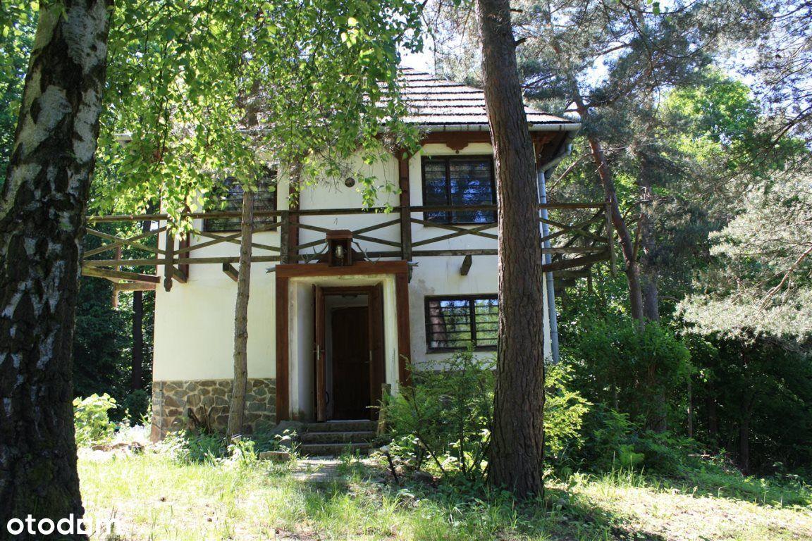 W otoczeniu lasu, staw, wz na drugi dom