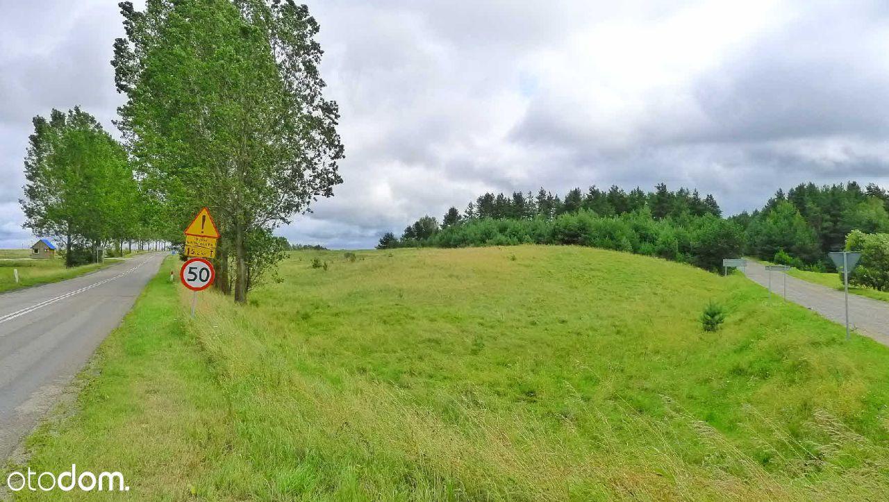 Bakałarzewo - działka przy trasie do Suwałk