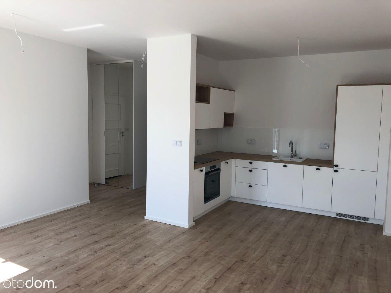 2 pokoje w nowym apartamentowcu z balkonem