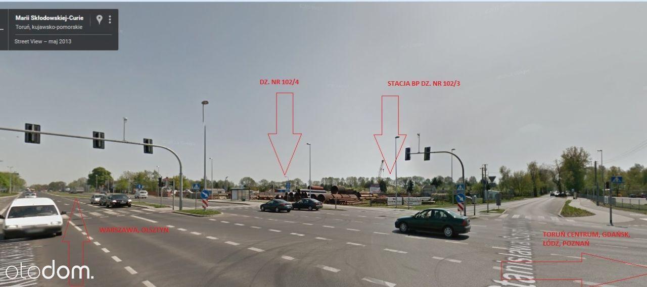Działka przy ulicy Skłodowskiej