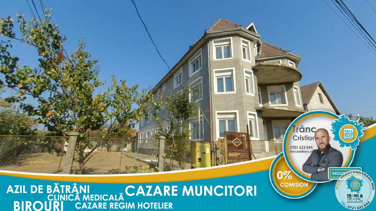 Casa / Cladire (Azil, Clinica, Birouri, Pensiune) cu 28 cam in Poltura