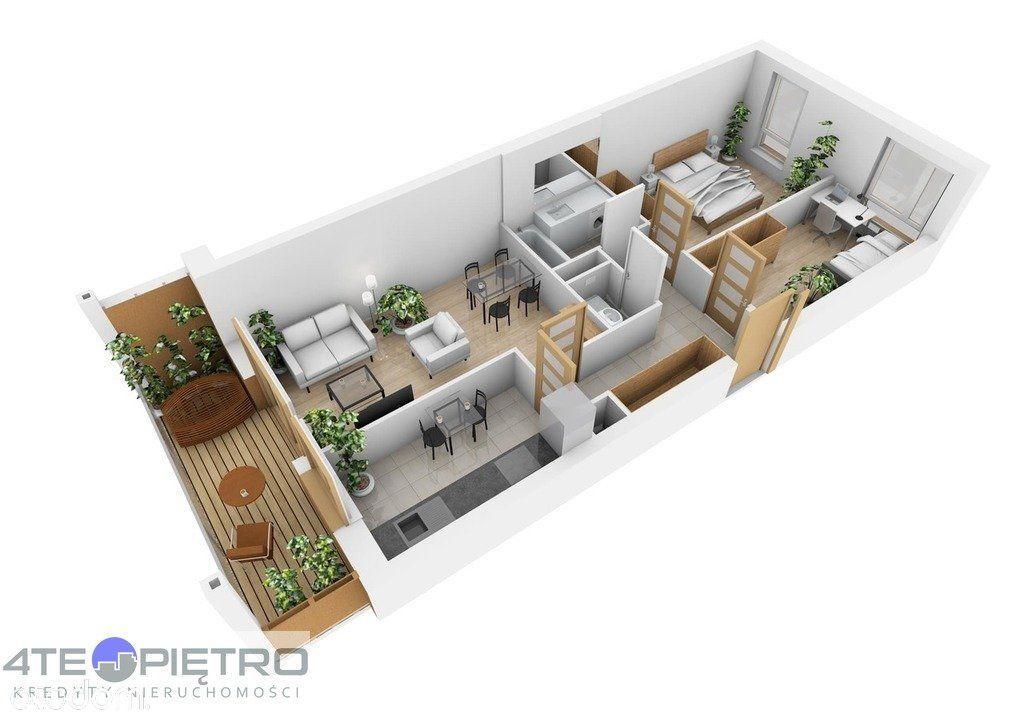 Nowe, 3 pokoje + K, 58m2, Czuby, 2021r.