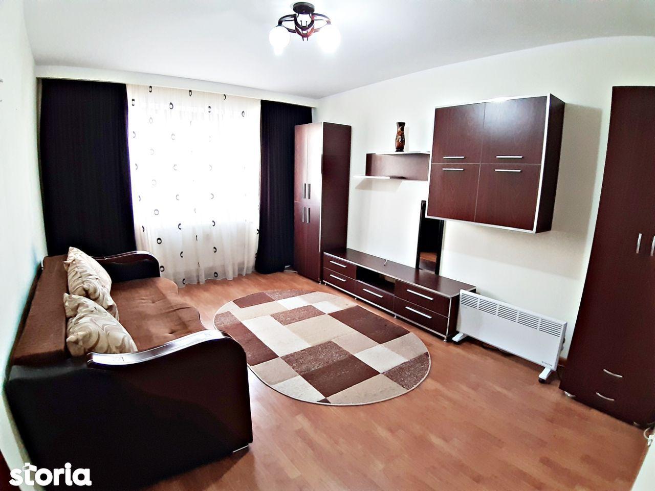 Apartament 1 camera Micro 20, mobilat, centrala termica