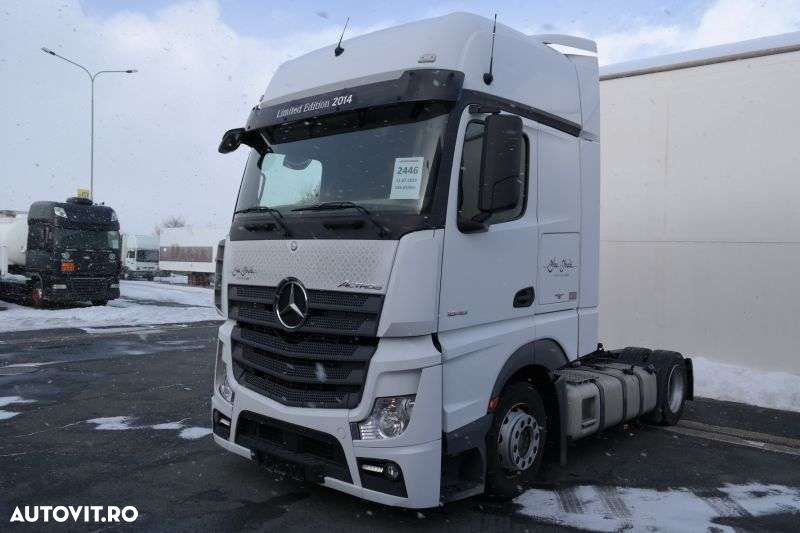 Mercedes-Benz Actros 1848 Lsnrl Euro 6 Low Deck - 1
