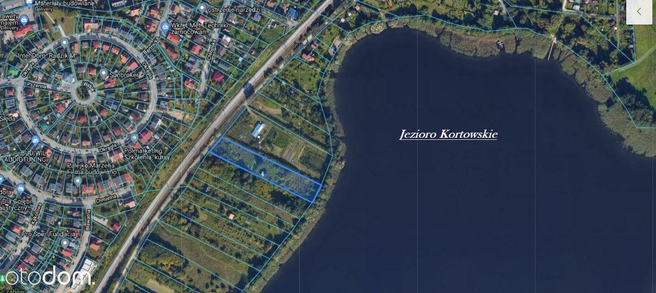 Działka rolno-rekreacyjna nad Jeziorem Kortowskim