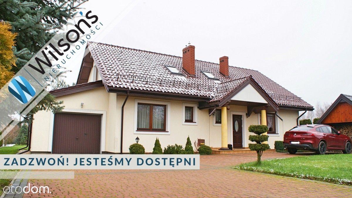 Dom 180 m2 na urokliwej działce 1686 m2 Jaktorów.