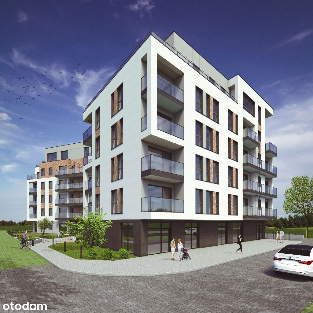 Hubalczyków nowy apartamentowiec - duży wybór