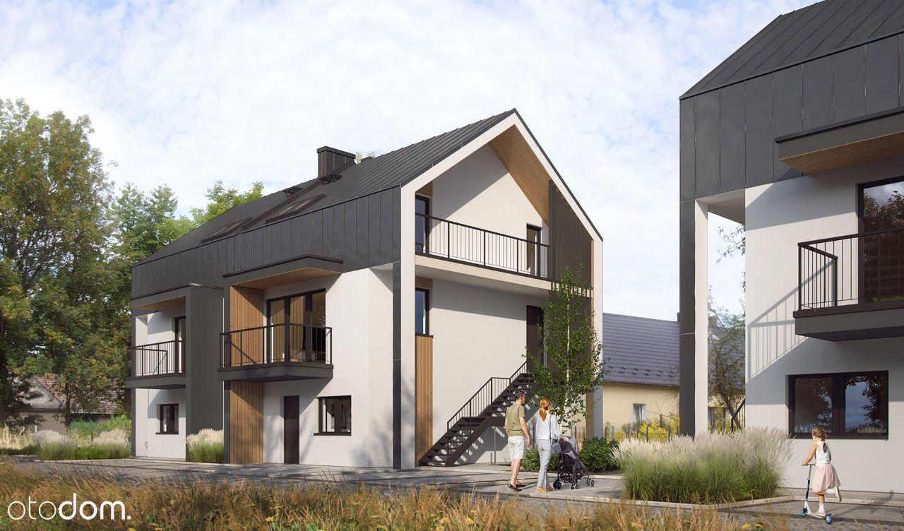 4-pokojowe mieszkanie z dużym ogrodem. M2