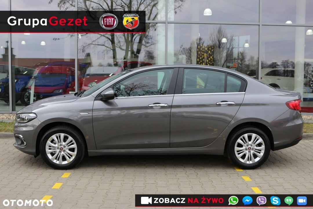 Fiat Tipo LOUNGE 1.4 16v 95KM Szary Colosseo - 2