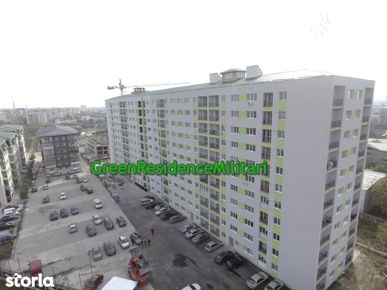 apartament 2 camere Metrou Pacii Green Residence Militari
