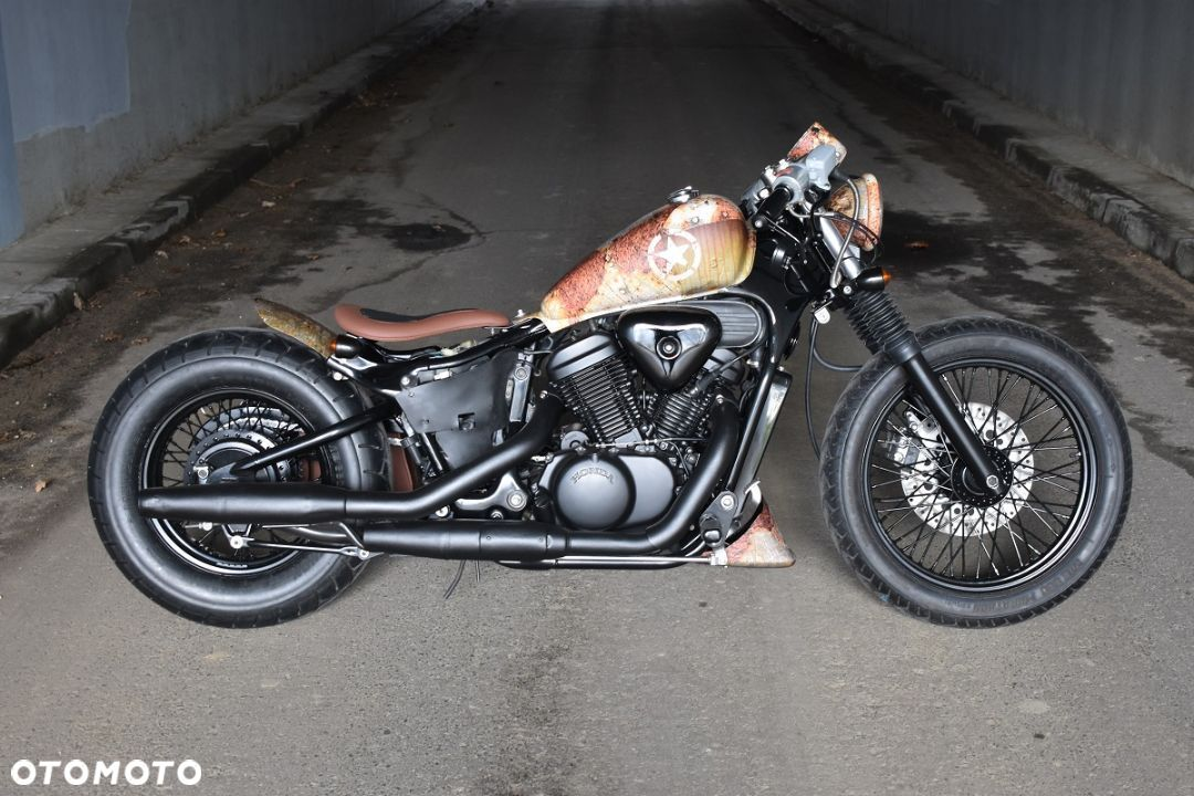 Honda VT Shadow vt 600 Flame Custom Bobber cafe - 14