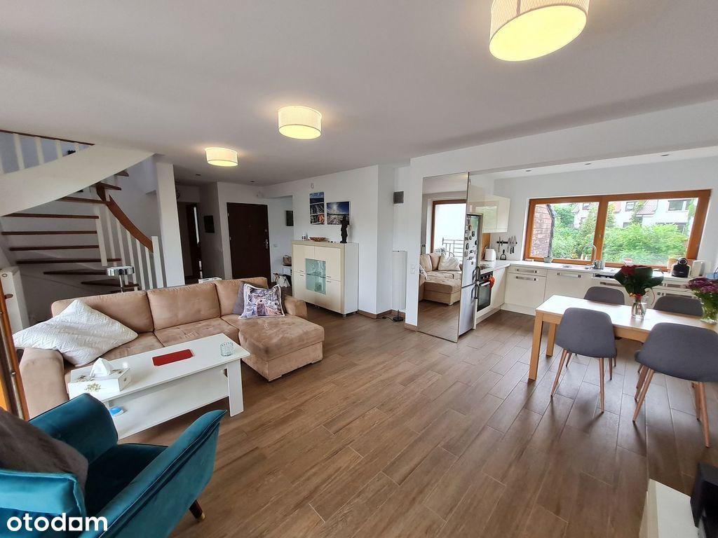 Dwupoziomowy apartament plus garaż na Osowie