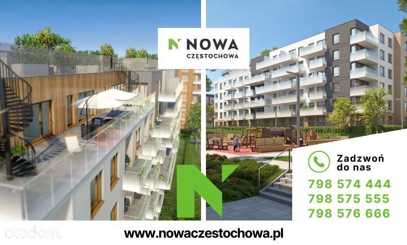 Nowa Częstochowa   Taras   3pokoje   Ogród   72m2