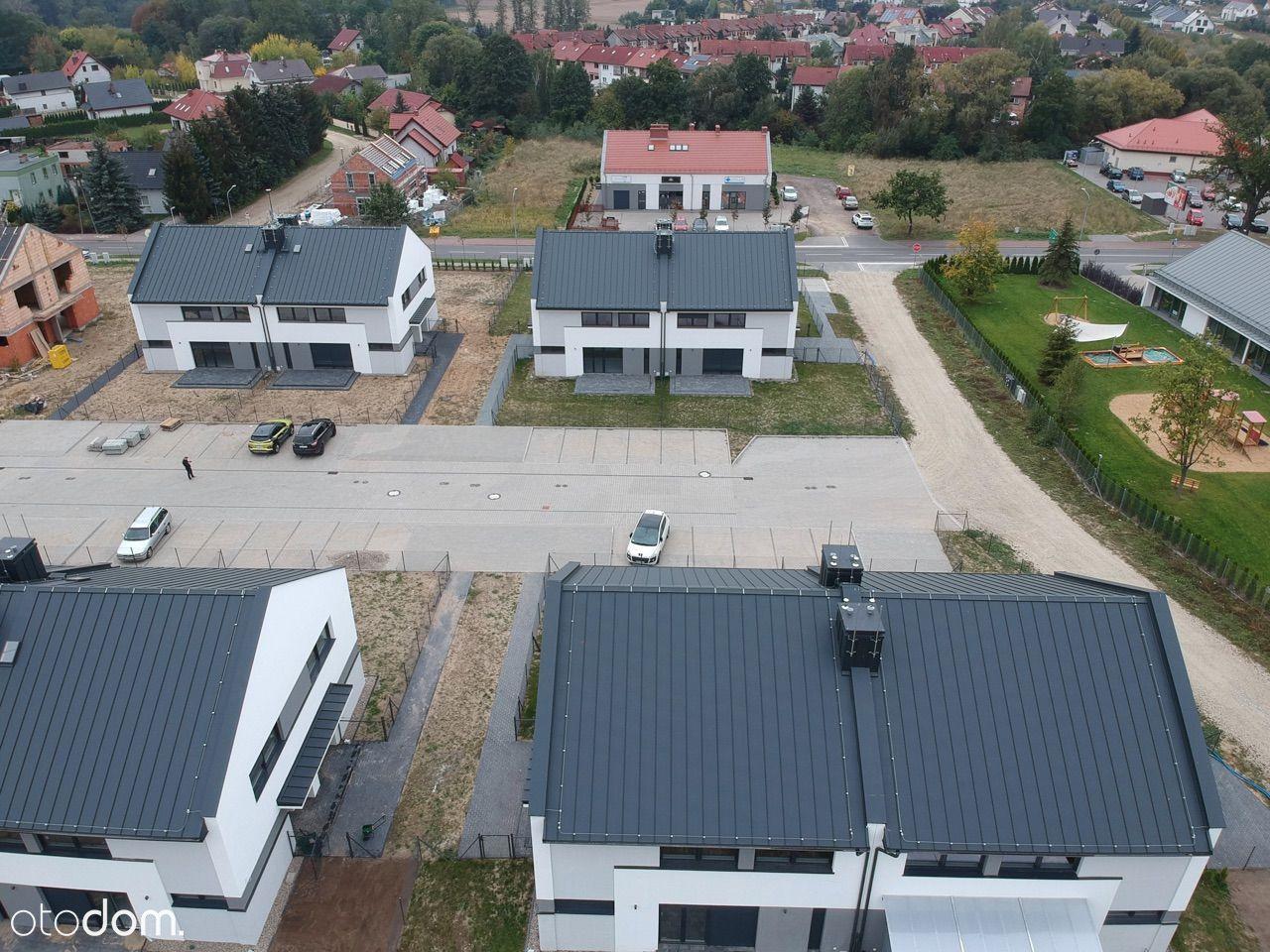 Nowe domy w Lusówku blisko przedszkola i jeziora