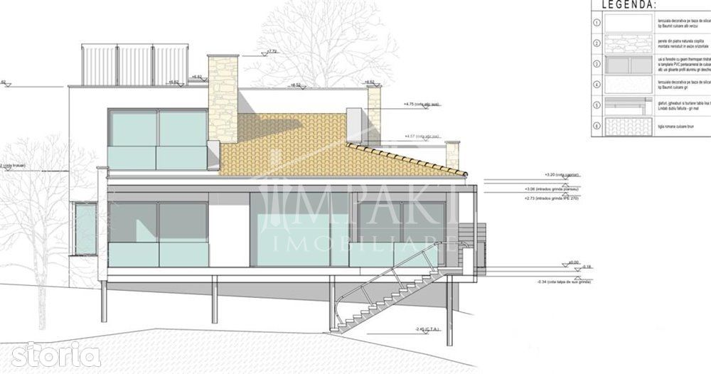 Casa individuala cu arhitectura deosebita in Feleac.