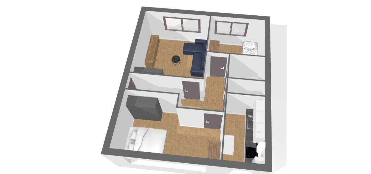 Mieszkanie 3pokojowe Ugorek