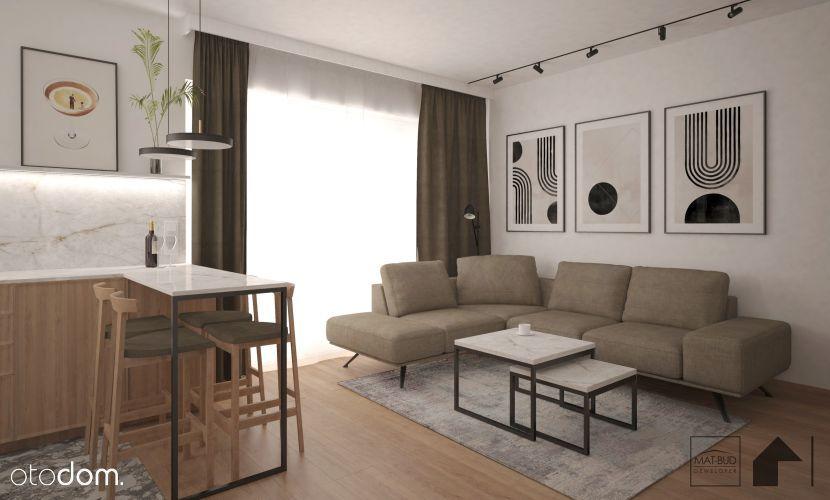 Mieszkanie z ogrodem w Szczytnikach, 3 pokoje