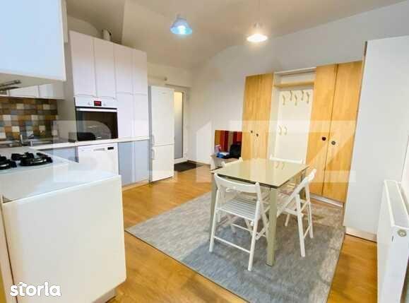 Apartament cu 4 camere, 90 mp, AC, garaj, zona strazii Paris