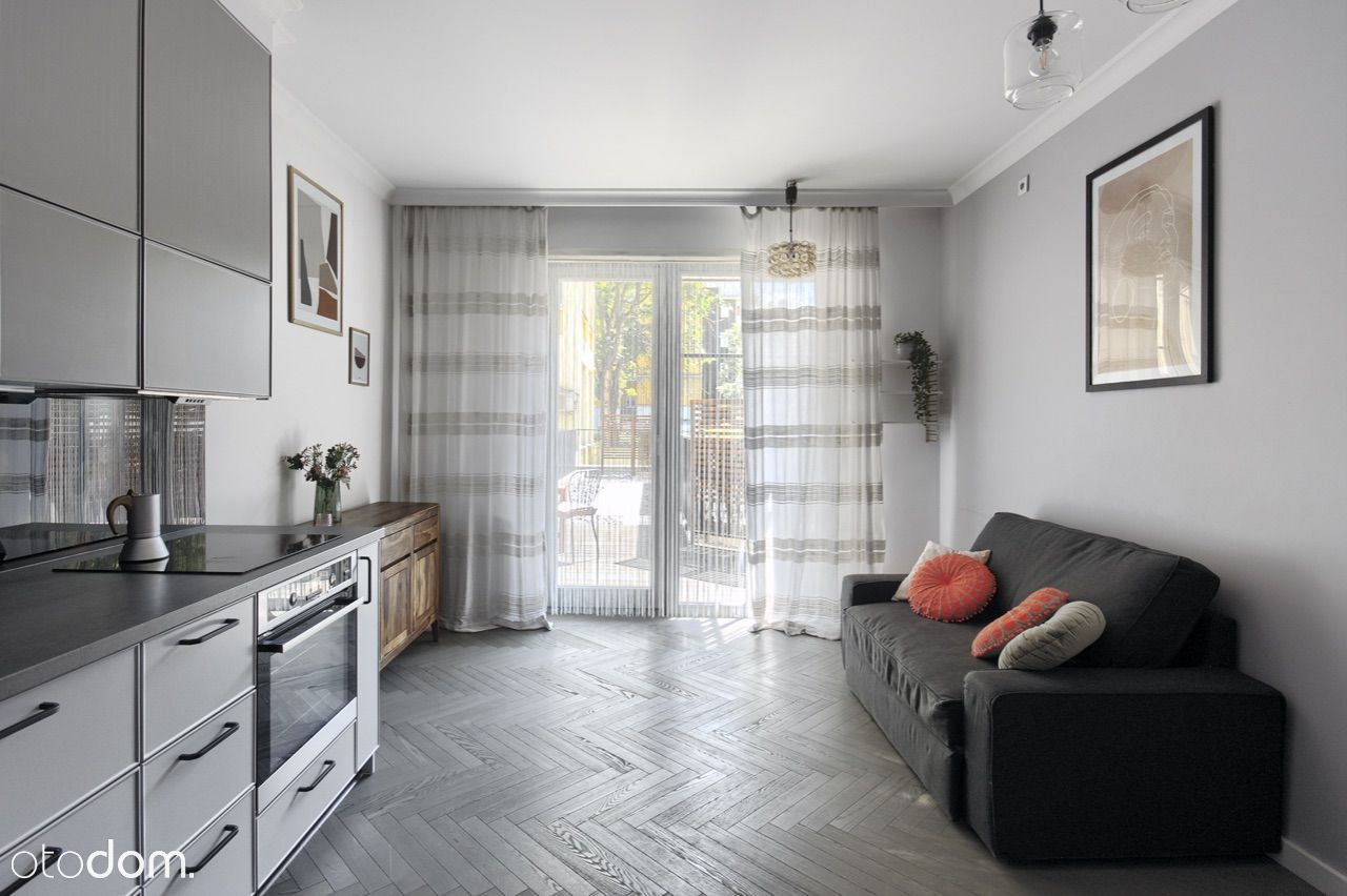 stylowy apartament w centrum, taras- Wroclaw