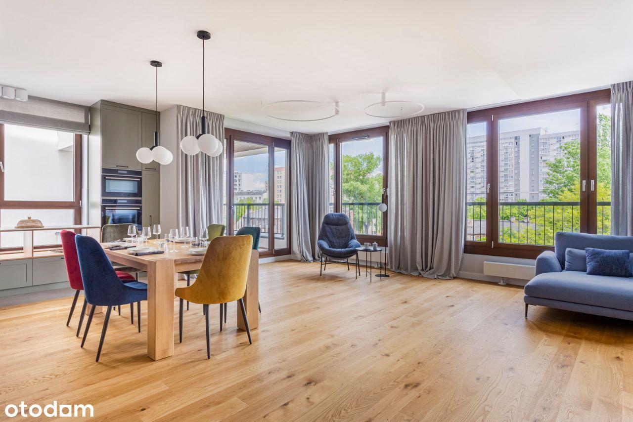 155 metrowy apartament na Browarach