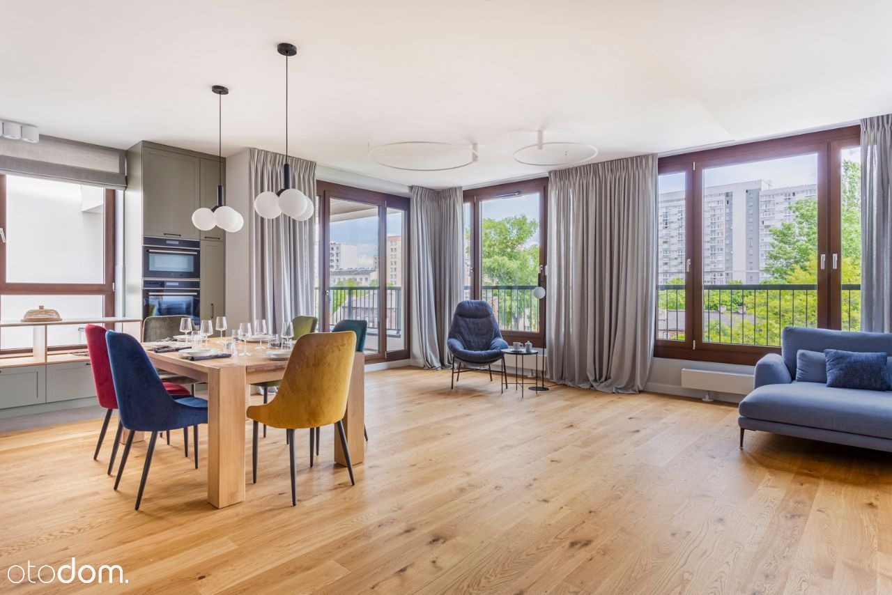 Nowy 155 metrowy apartament na Browarach